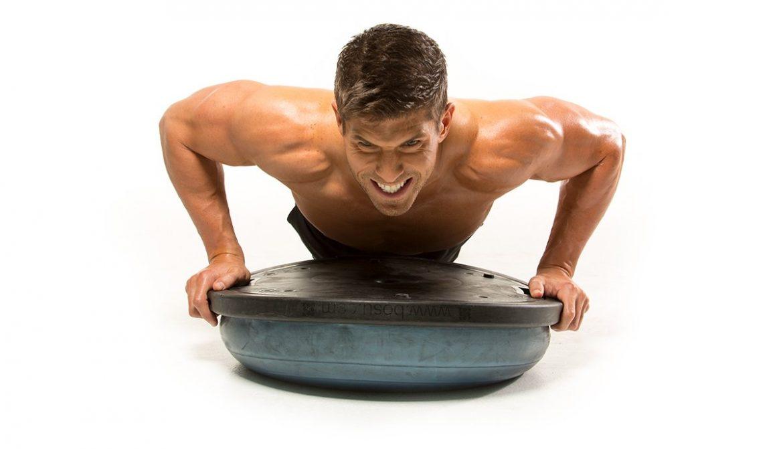 Упражнения с большим телом